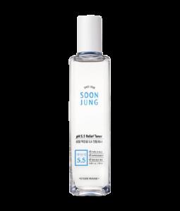 Nước hoa hồng giảm đau Korea Soon Jung pH5.5 Etude House