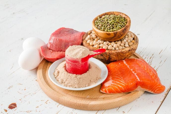 Chọn các loại protein có chứa hơn 70% protein.