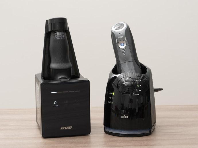 Chọn một máy cạo râu điện trong số các chức năng khác.