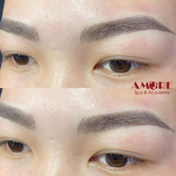 Điêu khắc lông mày tại AMORE Clinic & Spa Thanh Xuân