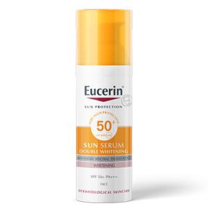 Kem chống nắng Eucerin Sun Double Whitening Serum SPF50 + PA +++
