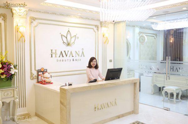 Havana Beauty là một cơ sở phun xăm thẩm mỹ quen thuộc tại quận Hoàn Kiếm