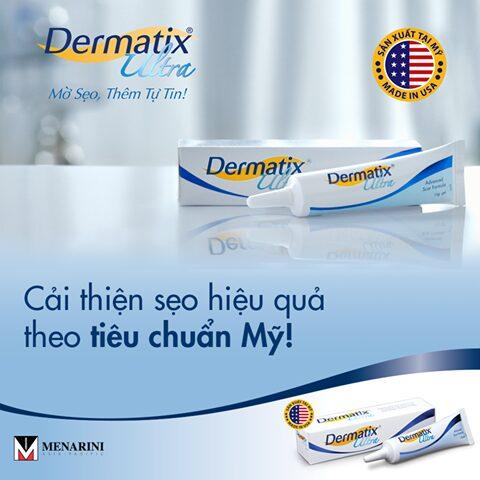 Kem Hỗ Trợ Giảm Sẹo Dermatix Ultra 7g