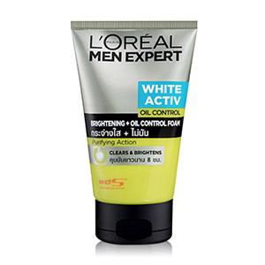 L'OREAL MEN EXPERT WHITE ACTIV BRIGHTENING + BỌT KIỂM SOÁT DẦU