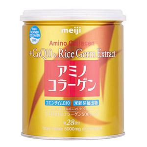 Meiji Amino Collagen CoQ10 & Chiết xuất từ mầm gạo