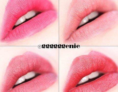 Phun môi màu đỏ mận giúp quý cô thêm quyến rũ