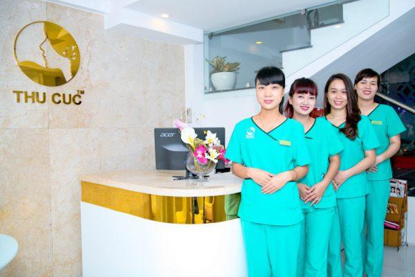 Phun môi tại bệnh viện đa khoa quốc tế Thu Cúc