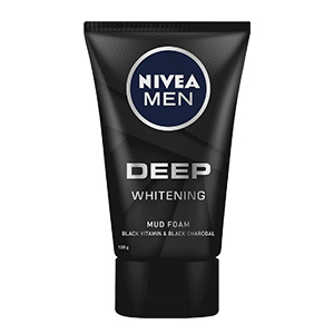 Sữa rửa mặt nam Oxy NIVEA Men Bọt bùn làm trắng sâu