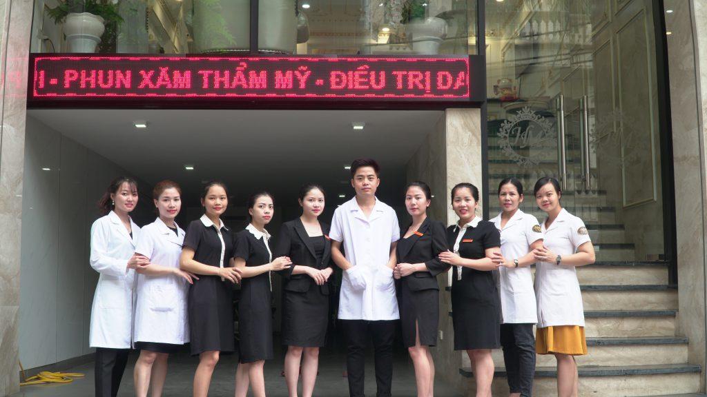 Thẩm mỹ viện Hương Mi xăm môi , phun môi thẩm mỹ giá tốt tại Hà Nội