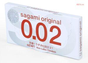 Bao cao su siêu mỏng Sagami Nhật Bản