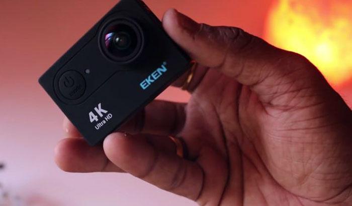 Camera hành trình cho Vios giá rẻ Eken H9R 4K