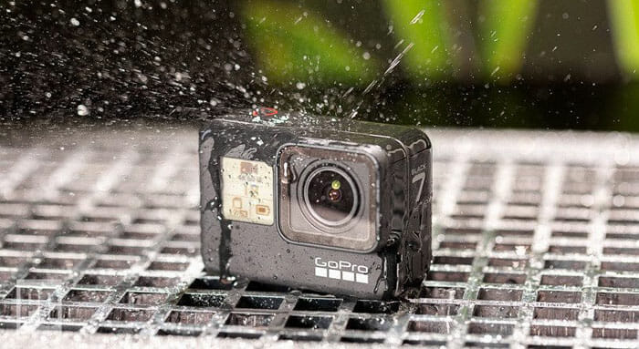 Camera hành trình cho Vios GoPro Hero 7 Black