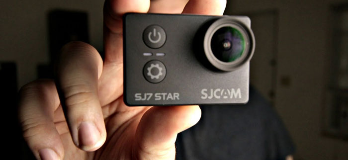 Camera hành trình cho Vios SJCAM SJ7 SAO 4K