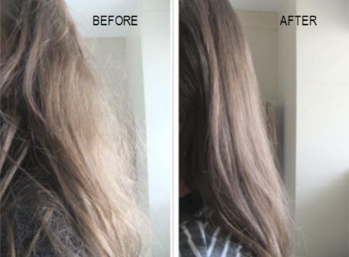Sau khi ủ tóc với Tresemme - tạo nên sự khác biệt