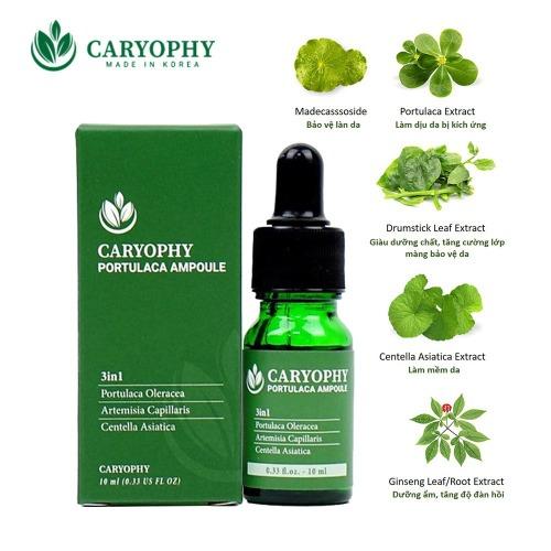 Serum giảm mụn mờ thâm se khít lỗ chân lông Caryophy