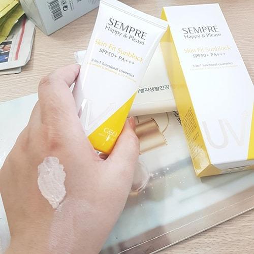 Sempre sử dụng được cả cho da mặt và body