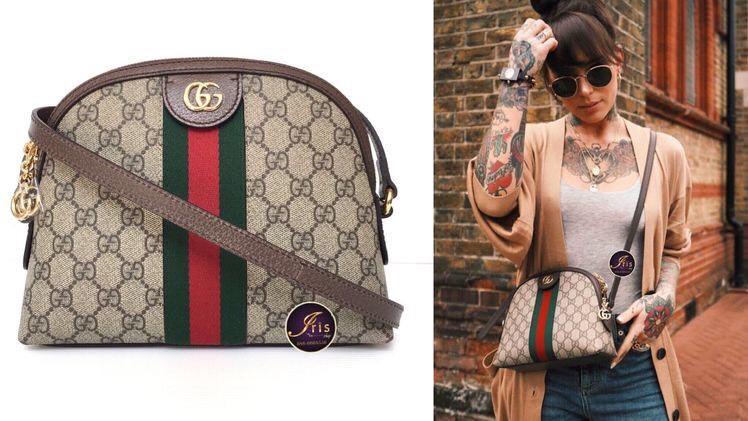 Túi Gucci Ophidia đầy quyền lực khi đi với những cô nàng cá tính