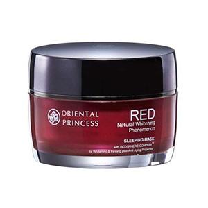 Mặt nạ ngủ Oriental Princess RED Natural Whitening & Firming Phenomenon Sleeping Mask