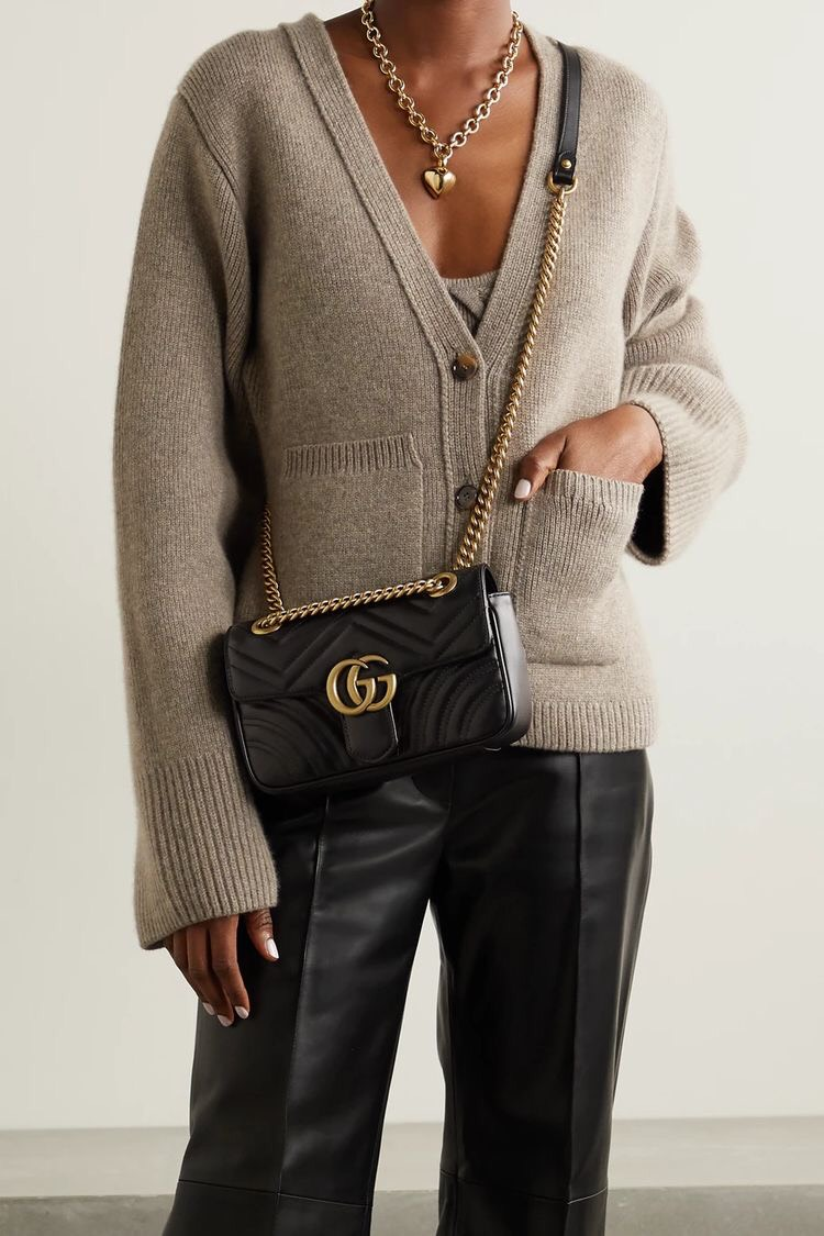 Túi Gucci Marmont màu đen sang chảnh quyến rũ