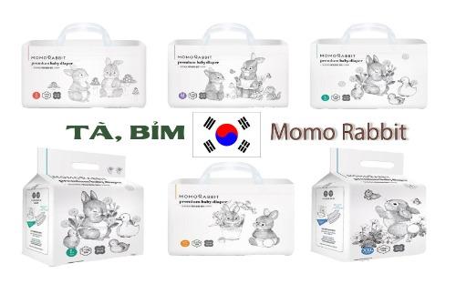 Bỉm Momo Rabbit được ưu chuộng tại nội địa Hàn