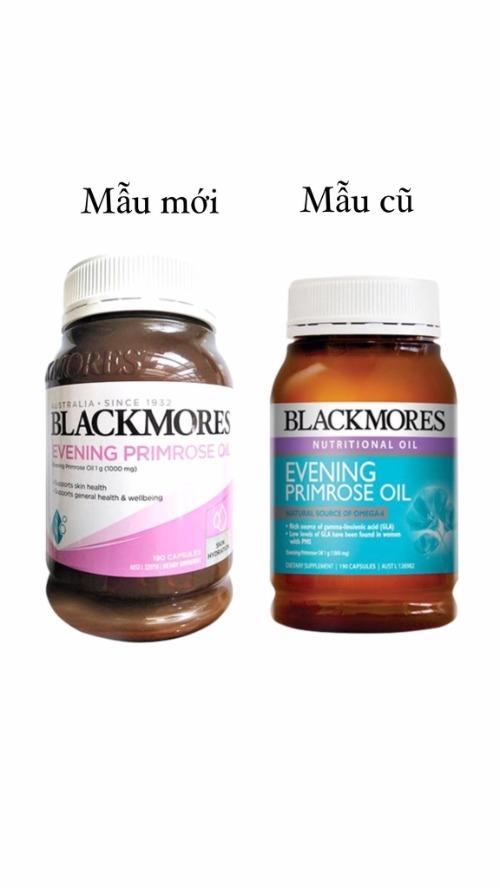 Tinh dầu Blackmore mẫu cũ và mẫu mới