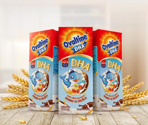 Ovaltine - thức uống dinh dưỡng lúa mạch
