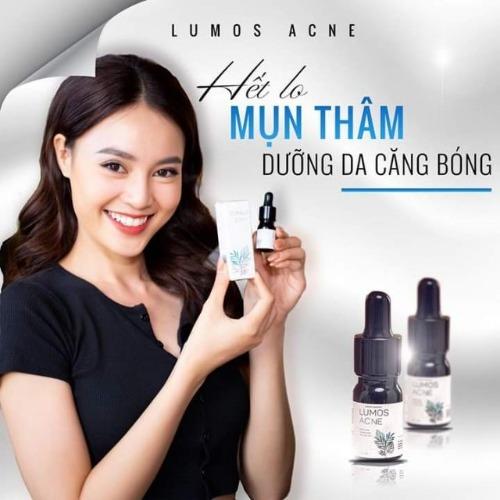 Serum trị mụn Lumos Acne được nhiều người sử dụng