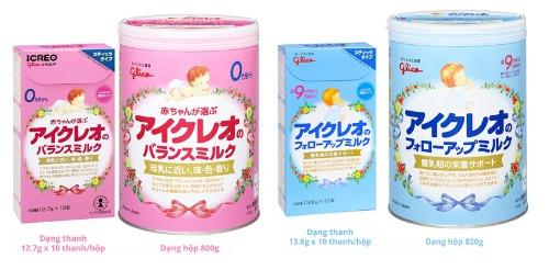 Sữa nội địa nhật Glico được các Mom quan tâm