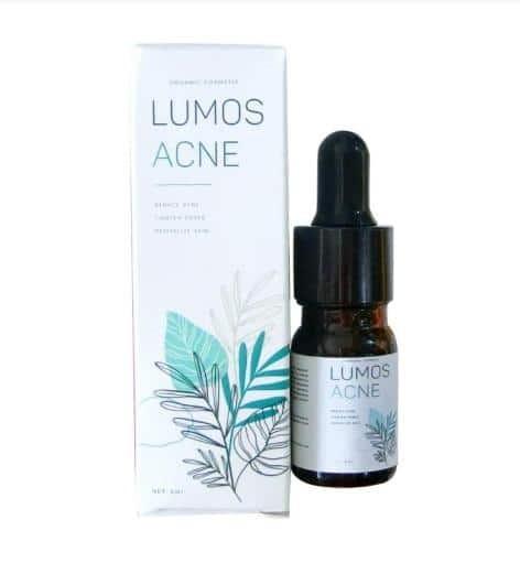 Serum Lumos Acne được thiết kế bắt mắt