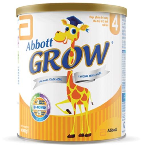 Abbott Grow 4 được đặc chế dành riêng cho trẻ từ 2 đến 6 tuổi