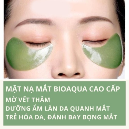 Cách dùng mặt nạ dưỡng mắt Bioaqua hiệu quả