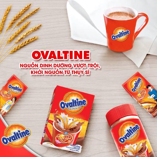 Ovaltine giúp Mẹ bầu có thêm dinh dưỡng bổ sung cho thai nhi