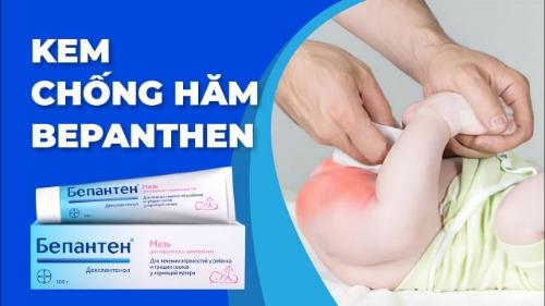 Kem Bepanthen dạng mỡ dễ bám, hiệu quả trị hăm da trong 3 ngày