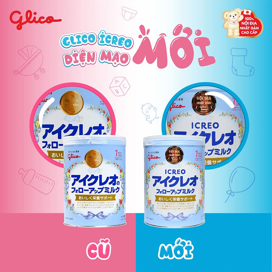 Sữa Glico - sữa nội địa Nhật Bản được yêu thích nhất tại Việt Nam