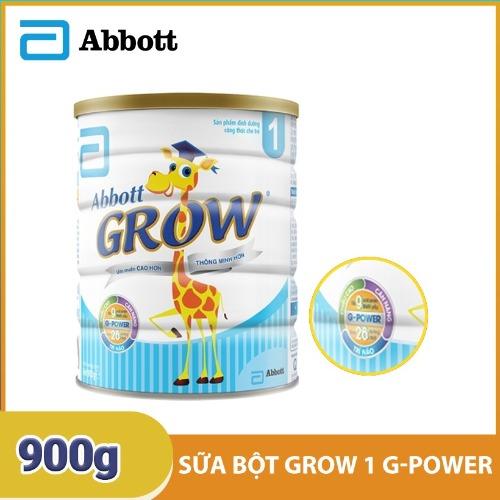 Sữa bột Abbott Grow 1 với công thức đặc biệt giúp bé tăng cân, chống táo bón