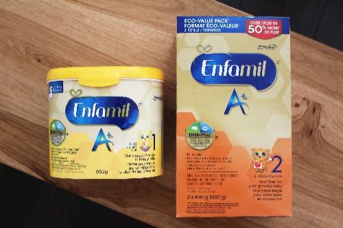 Enfamil chính hãng được bán phổ biến trên các trang thương mại điện tử