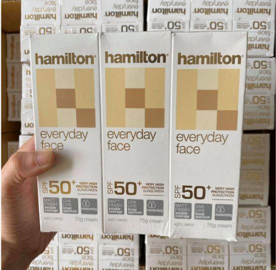 Kem chống nắng Hamilton