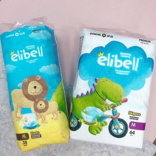 Bỉm Elibell thuộc thương hiệu Sunkiss Healthcare