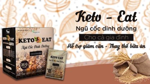 Keto Eat phân thành từng gói nhỏ giúp tiện lợi khi sử dụng