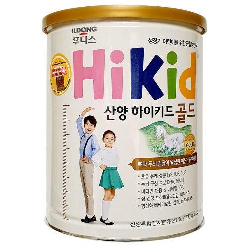 Sữa Hikid với thành phần công thức đặt biệt, giúp bé cải thiện chiều cao tối đa