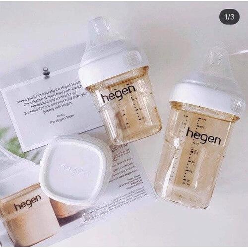 Nhờ những tính năng ưu việt mà bình sữa Hegen ngày càng được các mẹ yêu thích