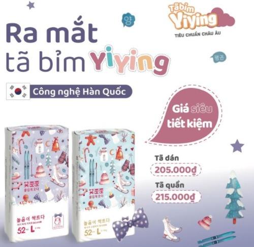 Bỉm Yiying nội địa trung