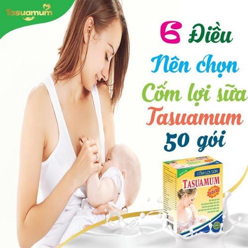 Tasuamum đảm bảo an toàn, không gây bất kỳ một tác dụng phụ nào cho mẹ và bé