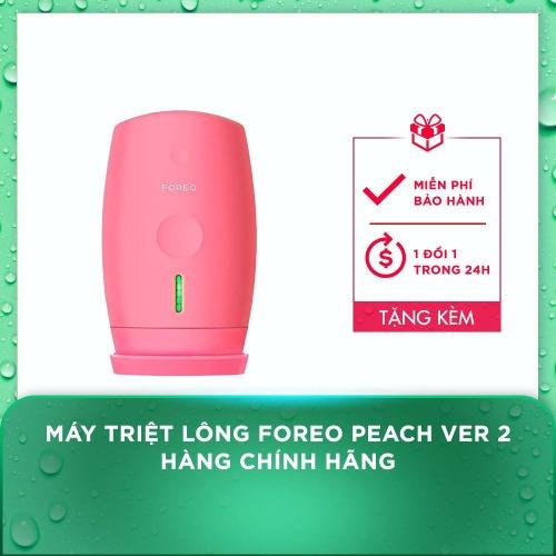 Foreo Peach Ver 2 - Máy triệt lông số 1 hiện nay