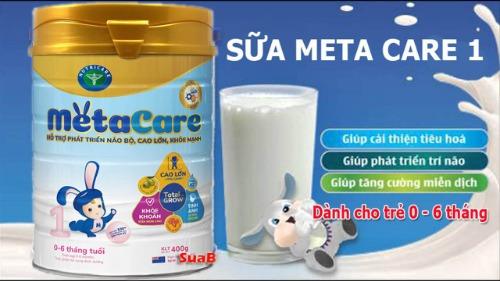 Sữa Meta Care số 1- dành cho bé từ 0 đến 6 tháng