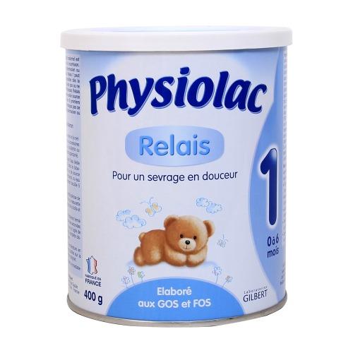 Sữa Physiolac số 1 cho bé từ 0 đến 6 tháng tuổi