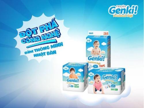 Genki sản xuất theo tiêu chuẩn khắt khe của Nhật Bản