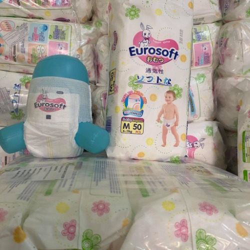 Eurosoft gồm 4 size tương ứng với cân nặng của bé