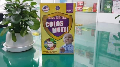 Colos Multi Pedia Mama - chuyên dùng cho trẻ biến ăn, suy dinh dưỡng