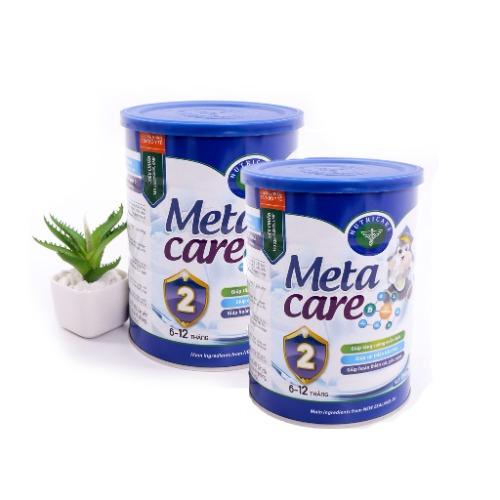 Sữa Meta Care số 2- dành cho bé từ 6 đến 12 tháng